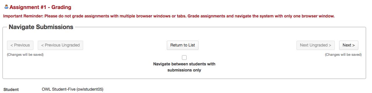 Grade assignments - OWL Help - Western University